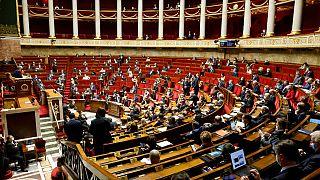 L'Assemblée nationale française, le 9 février 2021.