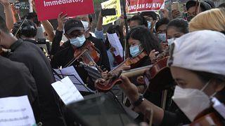 Мьянма: музыка протеста