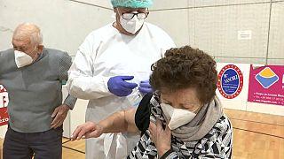 Comienzan las vacunaciones en Murcia