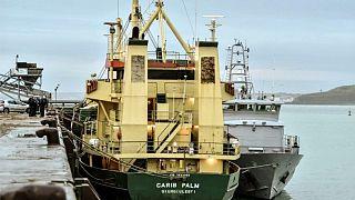 Uyuşturucunun ele geçirildiği CARIB PALM gemisi