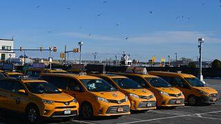 سيارات الأجرة الصفراء في مدينة نيويورك