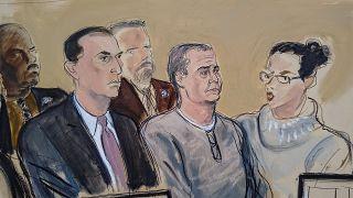 تصویری از دادگاه اوجی سیمپسون