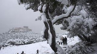 Premières neiges en Libye depuis 15 ans