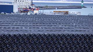 Pipes for the construction of the Nord Stream 2 natural gas pipeline