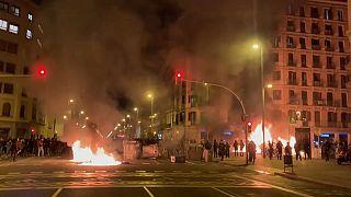 Protest in Spanien für inhaftierten Rapper Hasel