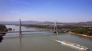 Die Donau bei Budakalasz