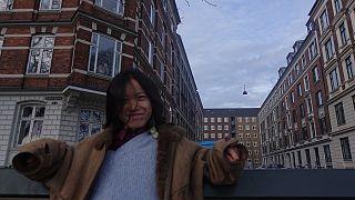 Danimarka'da vize süresi geçtiği için yabancı kontrol merkezine alınan Çinli yüksek lisans öğrencisi Bingzhi Zhu