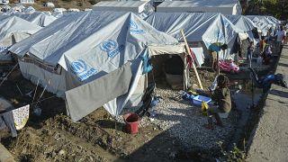 File photo - Kara Tepe refugee camp