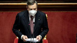 Draghi wirbt um Vertrauen und betont Verantworung Italiens
