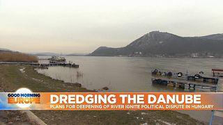 River Dunube in Hungary
