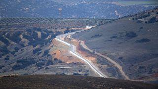 Турецко-сирийская граница в провинции Хатай