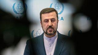مندوب ايران الدائم لدى الوكالة الدولية للطاقة الذرية في فيينا كاظم غريب عبادي