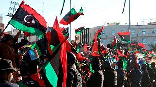 جشن مردم در لیبی