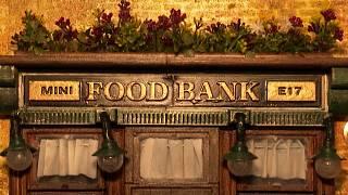 Artist creates mini food banks
