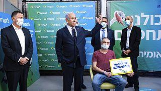 İsrail'de salı günü dört milyonuncu kişiye Covid-19 aşısı yapıldı