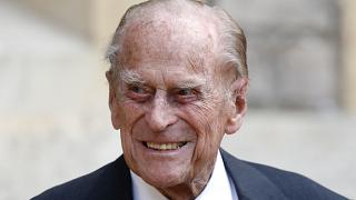 Britain's Prince Philip at a ceremonyat Windsor Castle, England on July 22, 2020.