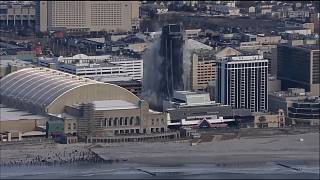 Antigo casino de Trump foi demolido em Atlantic City