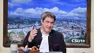 Markus Söder am politischen Aschermittwoch 2021