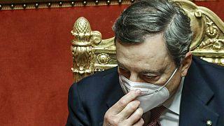Ο Μάριο Ντράγκι στη Γερουσία