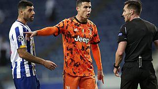 Cristiano Ronaldo pediu pénalti no final do encontro