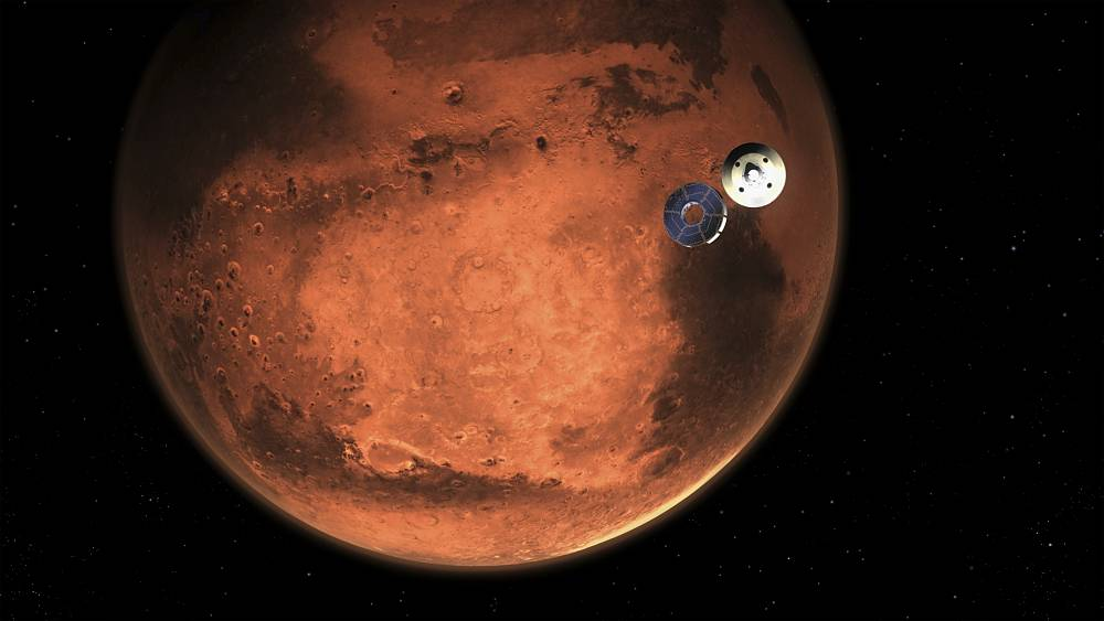 "Mission geglückt: US-Rover ""Perseverance"" landet auf dem Planeten Mars"