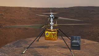 Der NASA-Helikopter Ingenuity