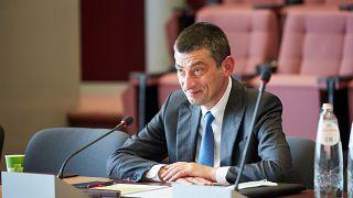 Ο πρωθυπουργός της Γεωργίας Γκιόργκι Γκαχάρια ανακοίνωσε την παραίτησή του