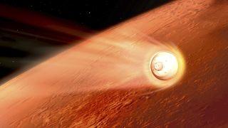 Persevrance Mars atmosferine girerken