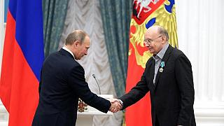 На церемонии вручения государственных наград РФ: Андрей Мягков награждён орденом Дружбы
