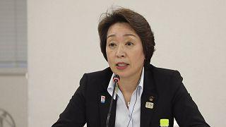 Archives : Seiko Hashimoto, alors ministre des JO, le 24 septembre 2020