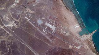 عکس ماهواره ای از پایگاه نظامی امارات متحده عربی در اریتره