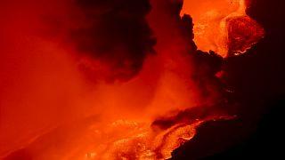 Spectaculaire éruption de l'Etna