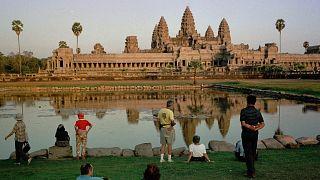 A kambodzsai templomromokat évszázadok óta a dzsungel sűrűje védi