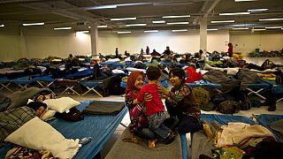 FILE: Afghan refugee children at a distribution centre, Freilassing, Germany, Dec. 8, 2015