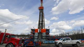 Seneca Resources shale gas well drilling