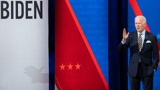 US-Präsident Joe Biden diese Woche bei einem Townhall in Milwaukee, Wisconsin.