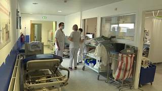 A l'hôpital de Dunkerque