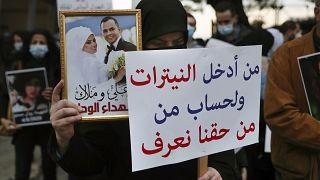 أقرباء لضحايا سقطوا في الانفجار يطالبون بالكشف عن الحقيقة ومعاقبة المسؤولين