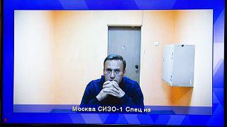 Алексей Навальный в СИЗО