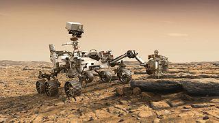 """ترقب وصول الروبوت الجوال """"برسفيرنس"""" إلى المريخ بحثاً عن آثار حياة قديمة"""