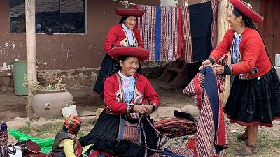 These women in the Andes have been helped to grow their businesses after COVID-19.