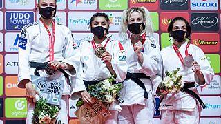Judonun ustaları Tel Aviv'de bir araya geldi