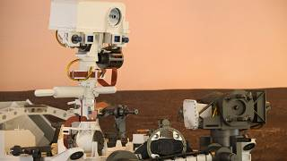 US-MARS-SPACE full-scale model of the Perseverance rover