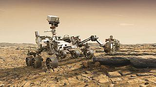 A NASA marsjárója munka közben - animáció (AP)
