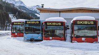 محطة للتزلج في النمسا