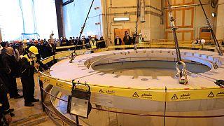 مفاعل المياه النووي في أراك، جنوب العاصمة طهران