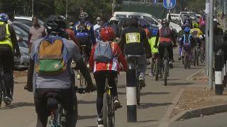 Le vélo gagne du terrain dans les rues de Nairobi