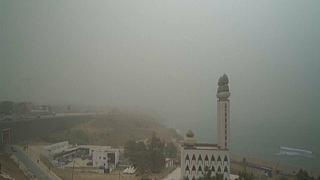 Harmattan Season Sees Senegal's Capital Covered By a Cloud of Dust