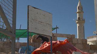 في شمال الأردن مشروع ترميم فسيفساء بيزنطية لحفظ التراث وإيجاد فرص عمل