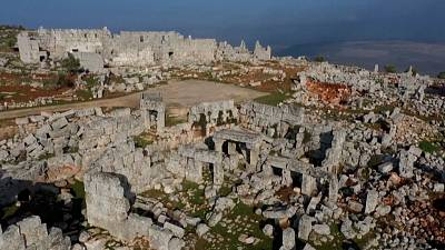 Syria's historical monuments have been ruined by years of civil war